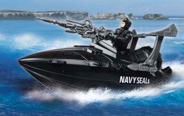 U.S. Navy Seals Speedboat & Urban Patrol Playset Asst.
