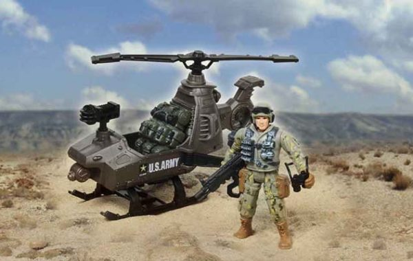 U.S. Army Helicopter Playset
