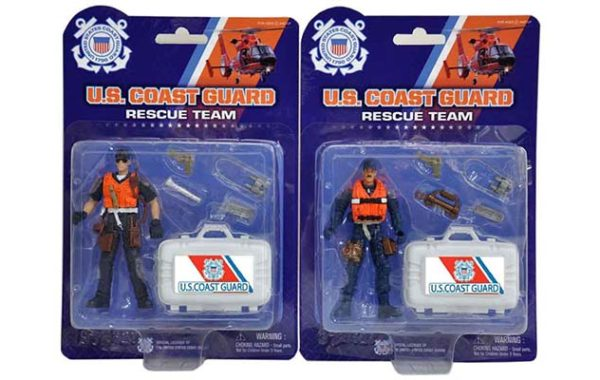 U.S. Coast Guard Rescue Figure