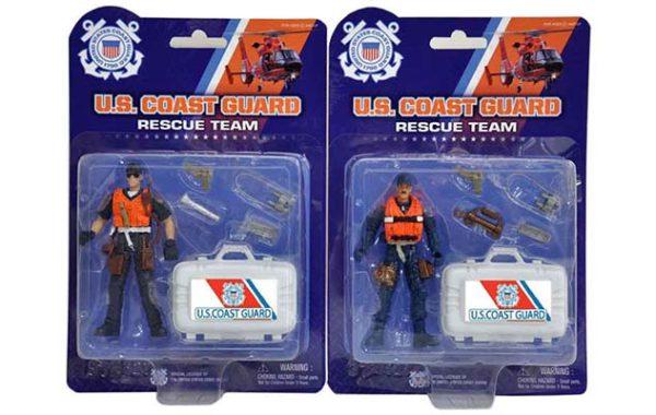 U.S. Coast Guard Rescue Figure
