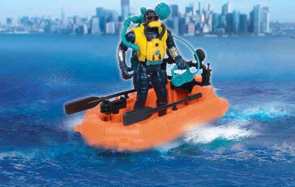 U.S. Coast Guard Water Craft Playset