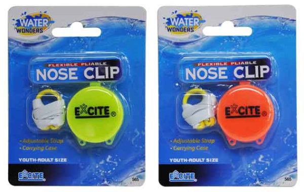 Flexible Pliable Nose Clip