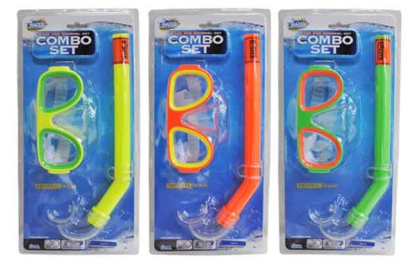 Mask and Snorkel Set Combo Set