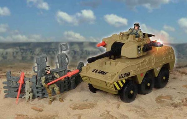 U.S. Army Heavy Urban Tank (2 Figures)
