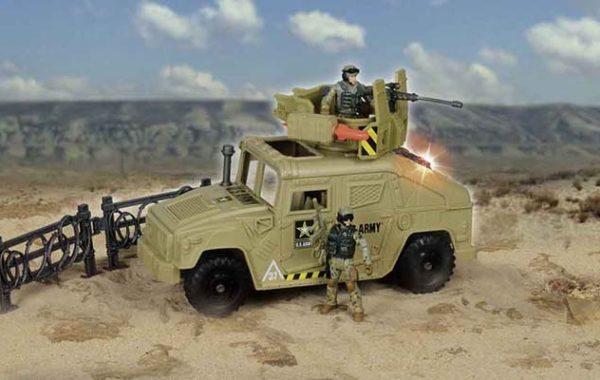 U.S. Army Patrol Vehicle (2 Figures)