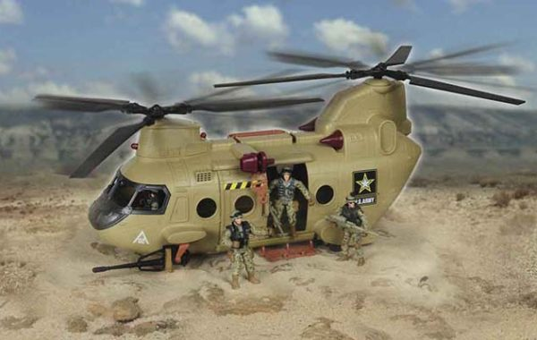 U.S. Army Transport Helicopter (4 Figures)