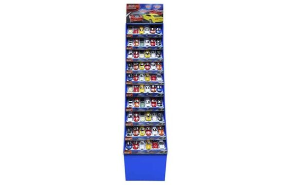 Licensed Diecast 60 Piece Display