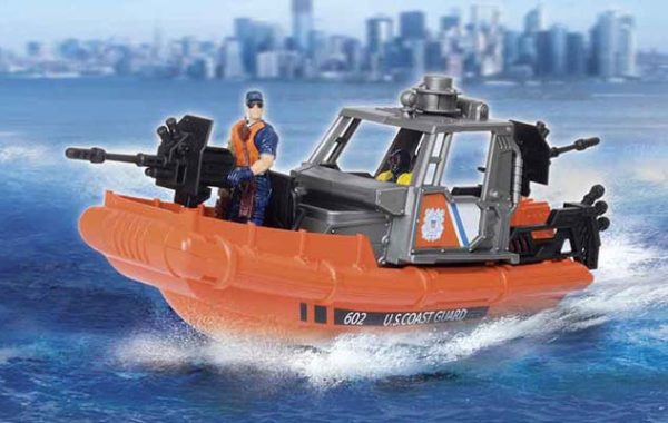 U.S. Coast Guard Rescue Boat