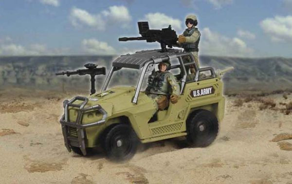 U.S. Army Vehicle Playset Asst.