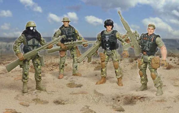 U.S. Army Soldier 4 Pack