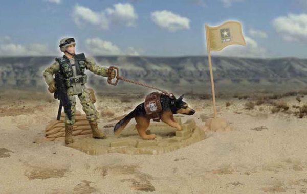 U.S. Army K-9 Playset