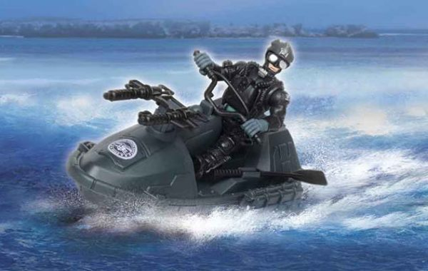 U.S. Navy Seals Watercraft Playset