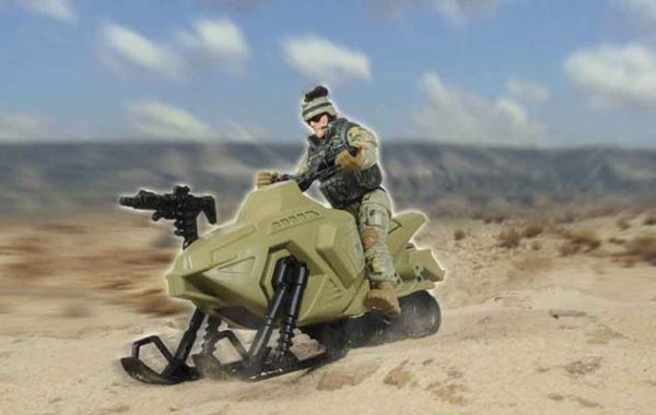 U.S. Army Ski-Cycle