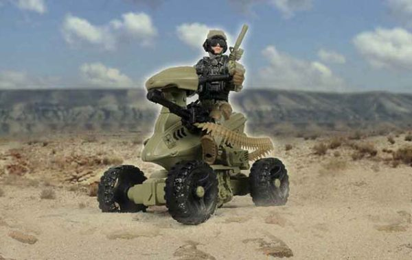 U.S. Army Heavy Weapon 4 Wheeler