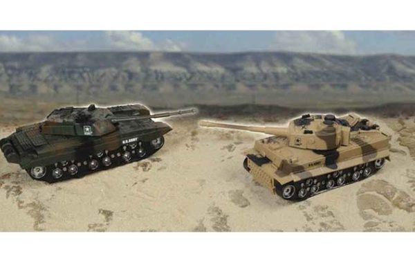 U.S. Army Twin Packs Radio Control Tank